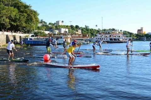 Stand Up Paddle põe Corumbá como cenário ideal para esporte de aventura