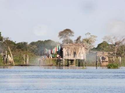 Com chuvas, Defesa Civil vê aumento do nível dos rios Paraguai e Taquari