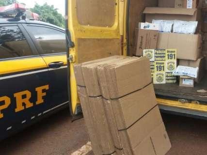 Operação da Polícia Federal combate contrabando de agrotóxicos