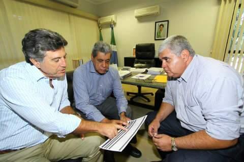 Murilo Zauith discute com André prioridades de Dourados em 2012