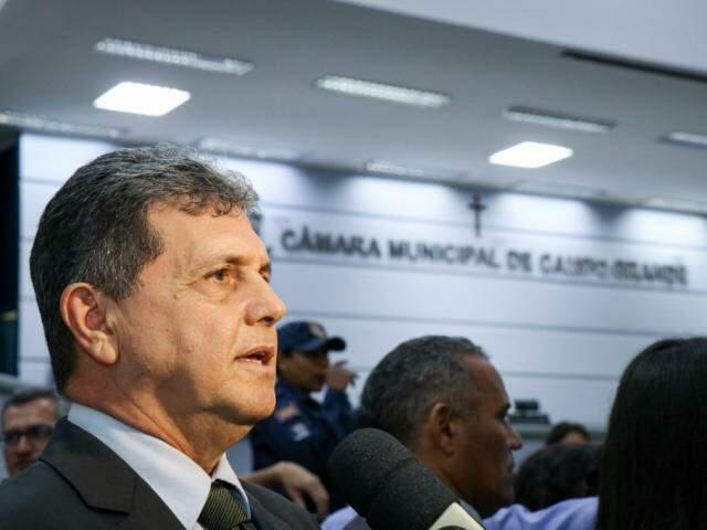 """João Rocha disse que """"harmonia"""" com Executivo vai continuar neste ano legislativo (Foto: Henrique Kawaminami)"""