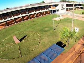 Campus da Uems em Dourados. (Foto: Dourados News)