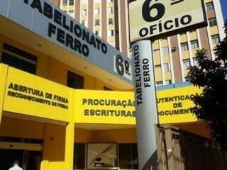 Sexto ofício, em Campo Grande, é um dos cartórios com vaga para titular. (Foto: Divulgação/TJ)