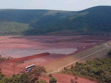 Sirene de barragem com 2 milhões de metros cúbicos de rejeito terá teste mensal