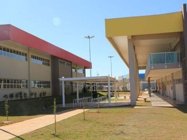 Blocos da universidade em Campo Grande. (Foto: Divulgação)