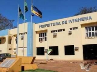 Prefeitura de Ivinhema abriu inscrições para preencher diversas vagas (Foto: assessoria)