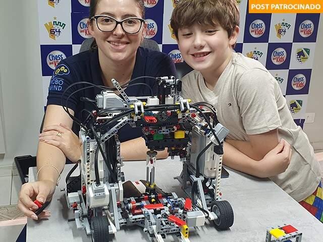 As inéditas construções de superestrutura LEGO estão dentro do conteúdo ministrado pela academia em 2020 (Foto: Divulgação)