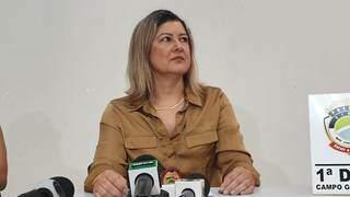 Delegada Sueyli Araújo Lima Rocha (Foto: Henrique Kawaminami)