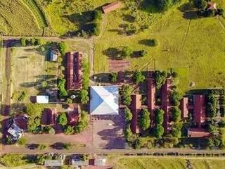 Unidade da Uems em Aquidauana vista do alto. (Foto: Gazeta Morena)