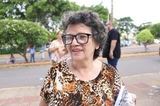 Maria Aparecida Lourenço resolveu tentar o concurso público pela primeira vez. (Foto: Paulo Francis)