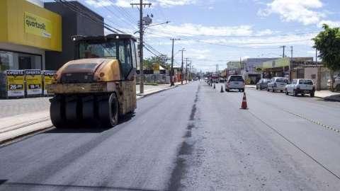 Avenida Bandeirantes já tem asfalto novo, mas ainda faltam pequenos ajustes