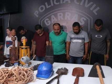 Justiça quebra sigilo telefônico de quadrilha que cavou túnel até banco