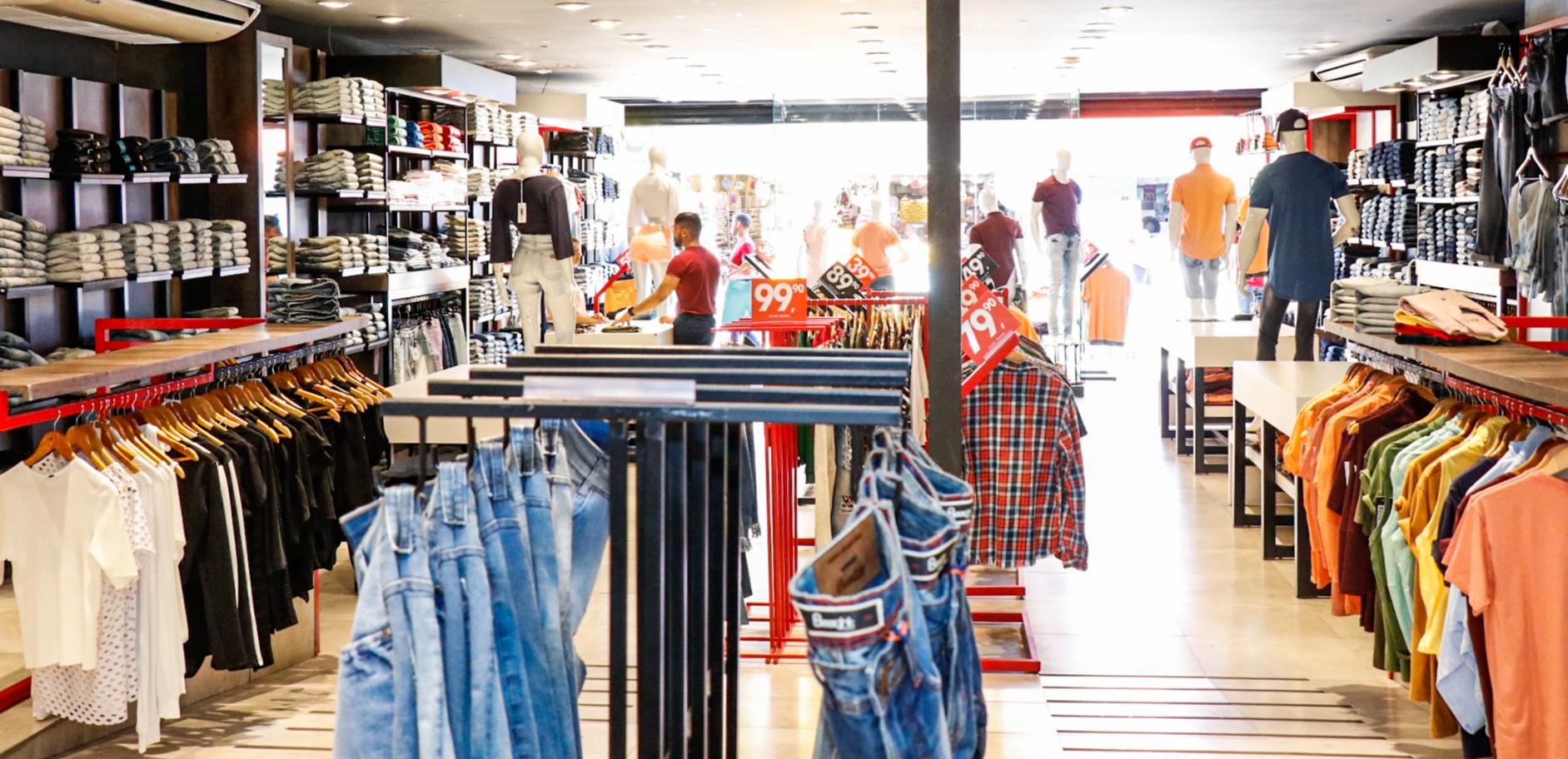 Lojas reabrem, mas é proibido experimentar roupas e bebedouro será lacrado  - Capital - Campo Grande News