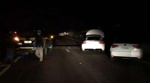 Dois são presos durante operação disputando racha na saída para Rochedo