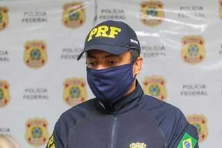Conforme o superintendente da PRF, Luiz Alexandre Gomes da Silva, as apreensões de maconha aumentaram neste ano em comparação com o mesmo período de 2019 (Foto: Marcos Maluf)