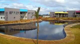 Campus da Uems em Campo Grande. (Foto: Divulgação)