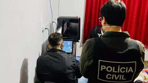 Polícia Civil cumpre mandados em 4 cidades de MS contra pedofilia na internet