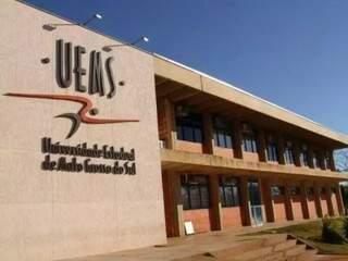 Sede da Uems, em Campo Grande (Foto: Divulgação)