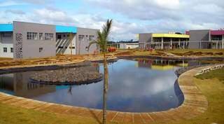 Campus da UEMS em Campo Grande (Foto: Divulgação)