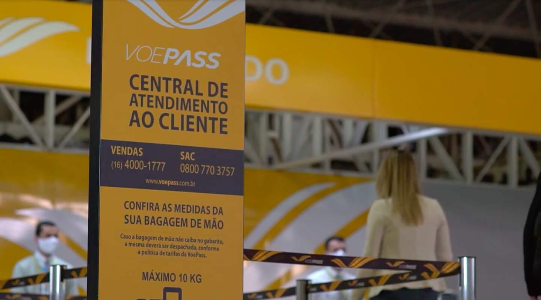 Ex-Passaredo, a VoePass Linhas Aéreas tem sede em Ribeirão Preto e vai operar os voos para a Gol entre Dourados e Guarulhos (Foto: VoePass/Divulgação)