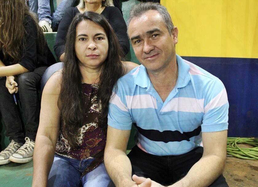 Márcia e o marido. (Foto: Arquivo Pessoal)
