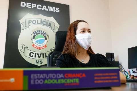 Redução de crimes contra crianças é por falta de denúncias, avalia delegada