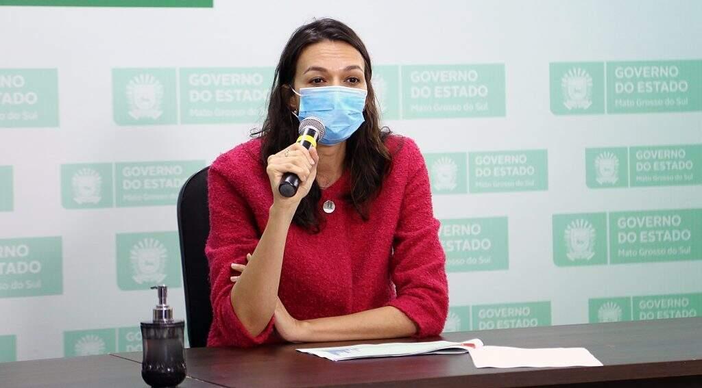 Mariana Croda, médica infectologista da Faculdade de Medicina da UFMS (Foto: Edemir Rodrigues/Governo de MS)