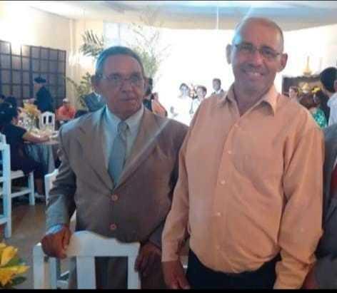Bento e José Carlos, lado a lado. (Foto: Arquivo da Família)