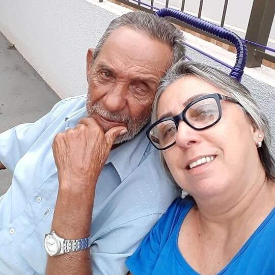 Martha e pai. (Foto: Arquivo da Família)