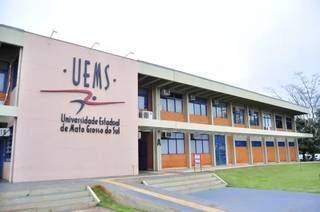 Sede da Uems, em Dourados (Foto: Divulgação - Uems)
