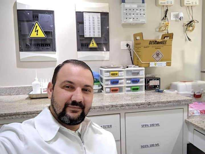 Técnico de enfermagem, João era apaixonado por sua profissão. (Foto: Arquivo da Família)