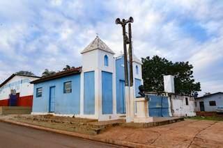 Igreja será restaurada em projeto de arquitetos de Campo Grande. (Foto Kísie Ainoã)