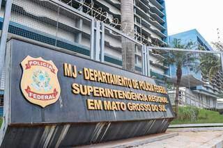 Superintendência da Polícia Federal em Campo Grande fica na Rua Fernando Luiz Fernandes, Vila Sobrinho (Foto: Henrique Kawaminami)
