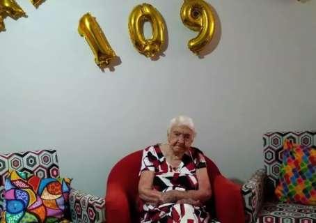 Com 109 anos de muita saúde, Angelina terminou sua história como vítima da covid