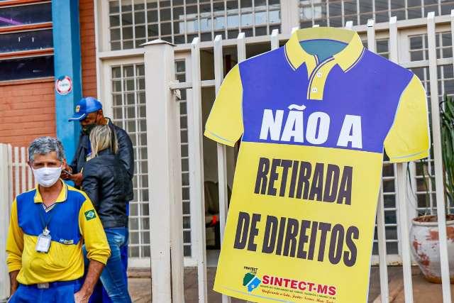 Com greve em 34 municípios de MS, Correios entram com dissídio coletivo