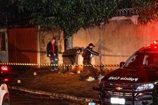 Crime aconteceu na Rua Tupi, no dia 20 de agosto (Foto: Henrique Kawaminami)