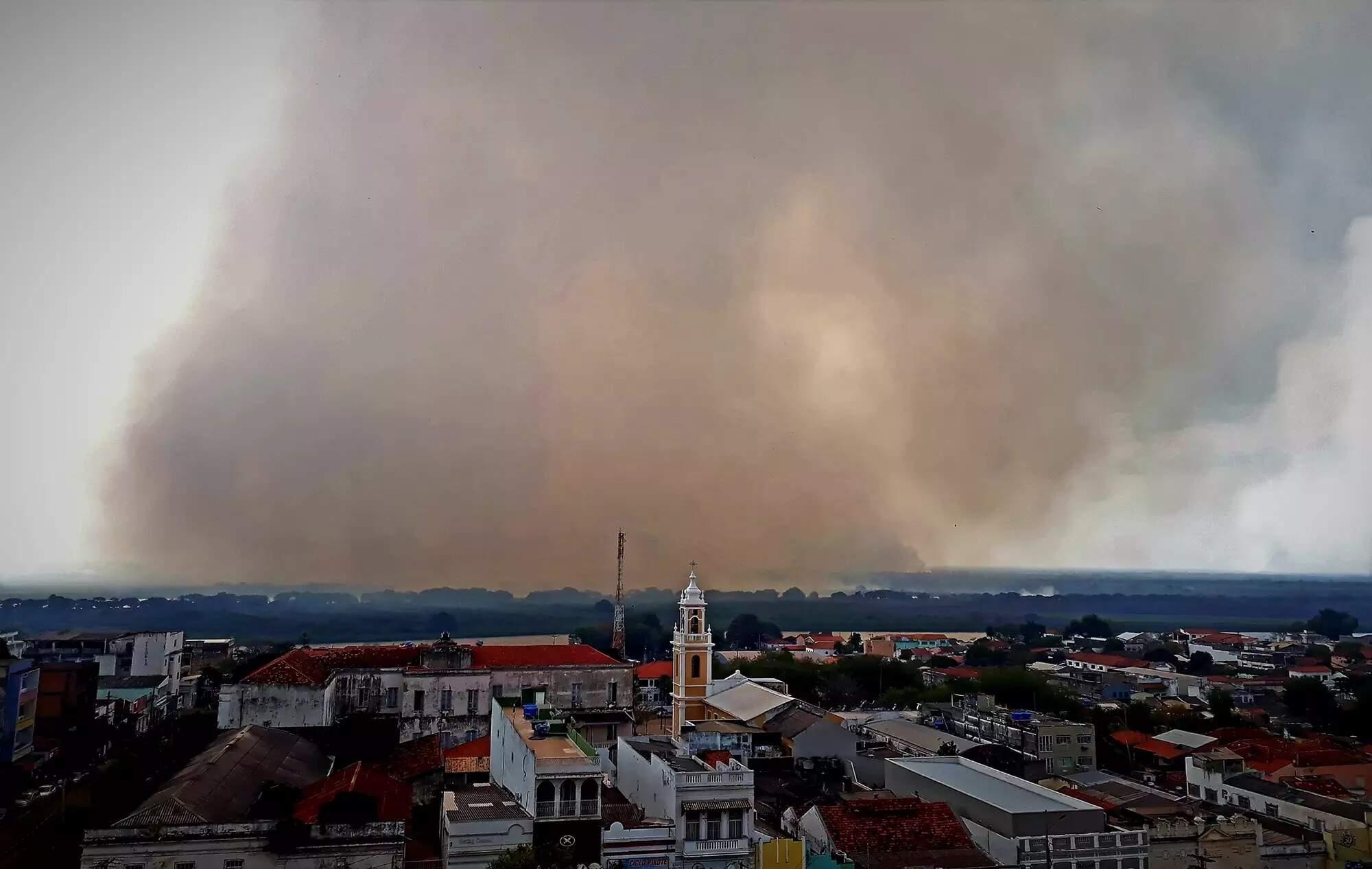 Corumbá, Porto Murtinho e Aquidauana têm 81% dos focos de incêndio em MS -  Cidades - Campo Grande News