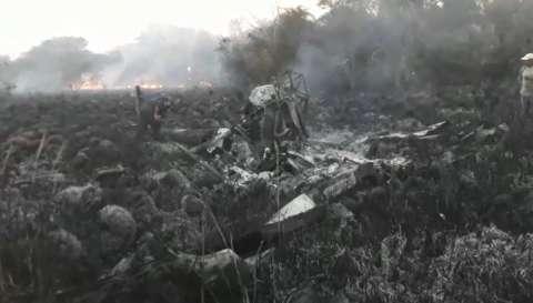 Polícia vai investigar se helicóptero que explodiu era usado no tráfico