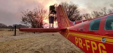 Combate ao fogo em áreas de conservação recebe reforço de aeronaves e Exército