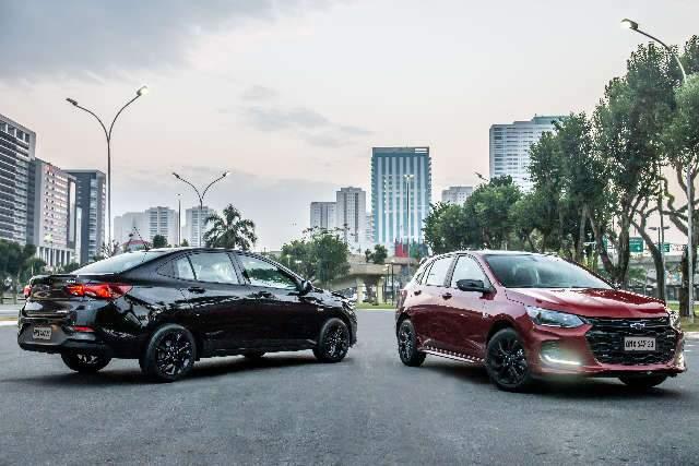 Chevrolet lança Onix RS e Onix Plus Midnight