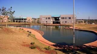 Campus da Uems em Campo Grande. (Foto: Uems)