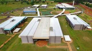 Vista aérea do campus da Uems de Campo Grande. (Foto: Divulgação)