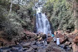 Esta cachoeira aqui é a do Celzinho (Foto: Arquivo Pessoal)