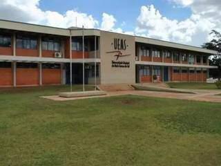 Sede da Uems, na cidade de Dourados (Foto: Divulgação)