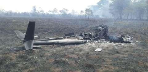 Piloto é preso em MS após queda de helicóptero em assentamento de SP