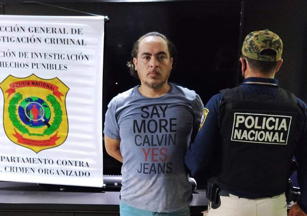 Fábio Costa foi preso em operação da polícia paraguaia (Foto: Divulgação)