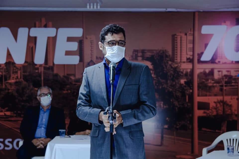 Harfouche é candidato a prefeito pelo Avante (Foto: Divulgação)