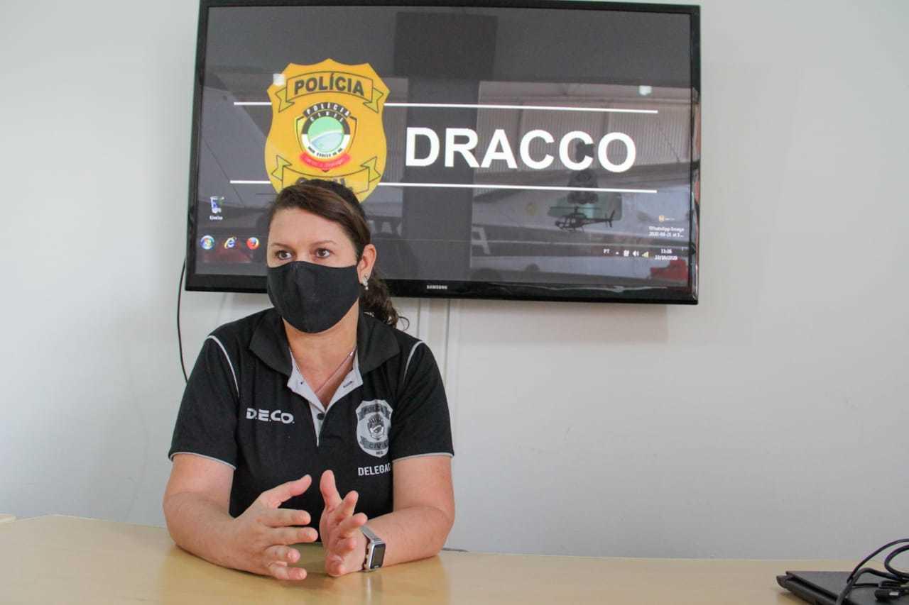 Titular do Dracco, delegada Ana Cláudia Medina lidera a operação Ícaro. (Foto: Silas Lima)
