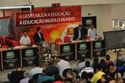 Primeiro debate entre candidatos a prefeito acontece no próximo dia 28