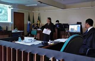 Julgamento levou horas e a dupla acabou condenada (Foto: Suélen Duarte/Noticidade)